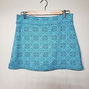 Colorado Clothing Skort Tranquility Teal Oasis M